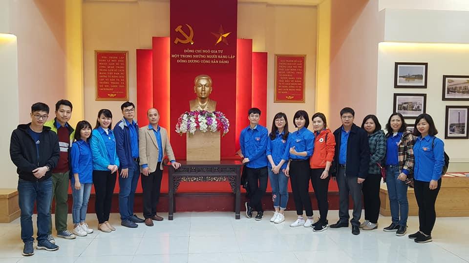 Hành trình về nguồn năm 2019 của Đoàn thanh niên Bệnh viện đa khoa tỉnh Bắc Ninh