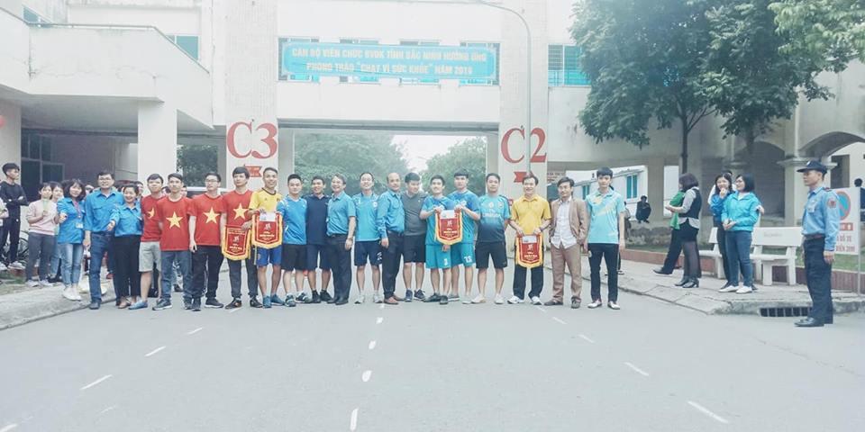 """""""Chạy vì sức khỏe"""" năm 2019 tại Bệnh viện Đa khoa tỉnh Bắc Ninh"""