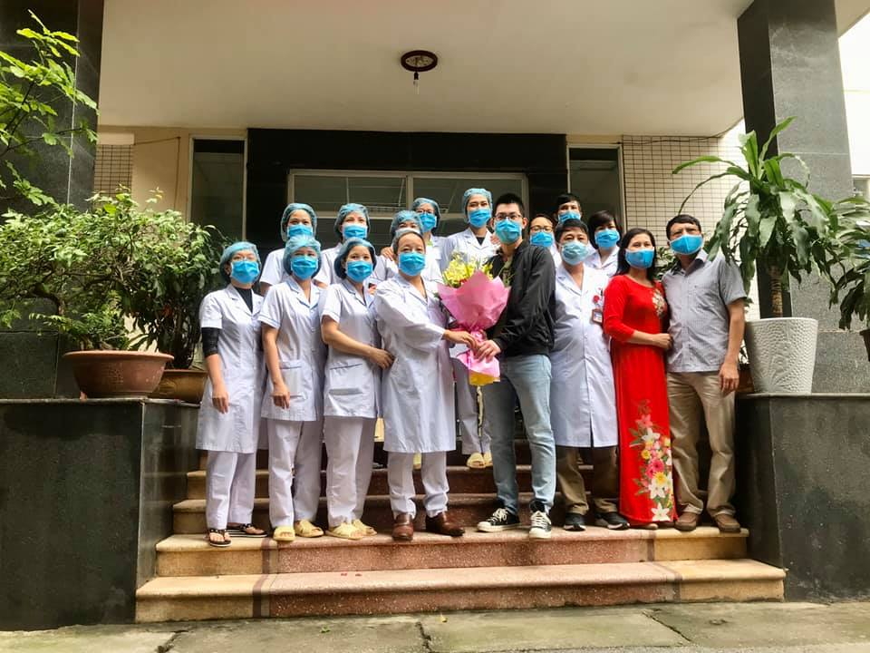 Bệnh nhân điều trị Covid - 19 số 74 tại Bắc Ninh được xuất viện