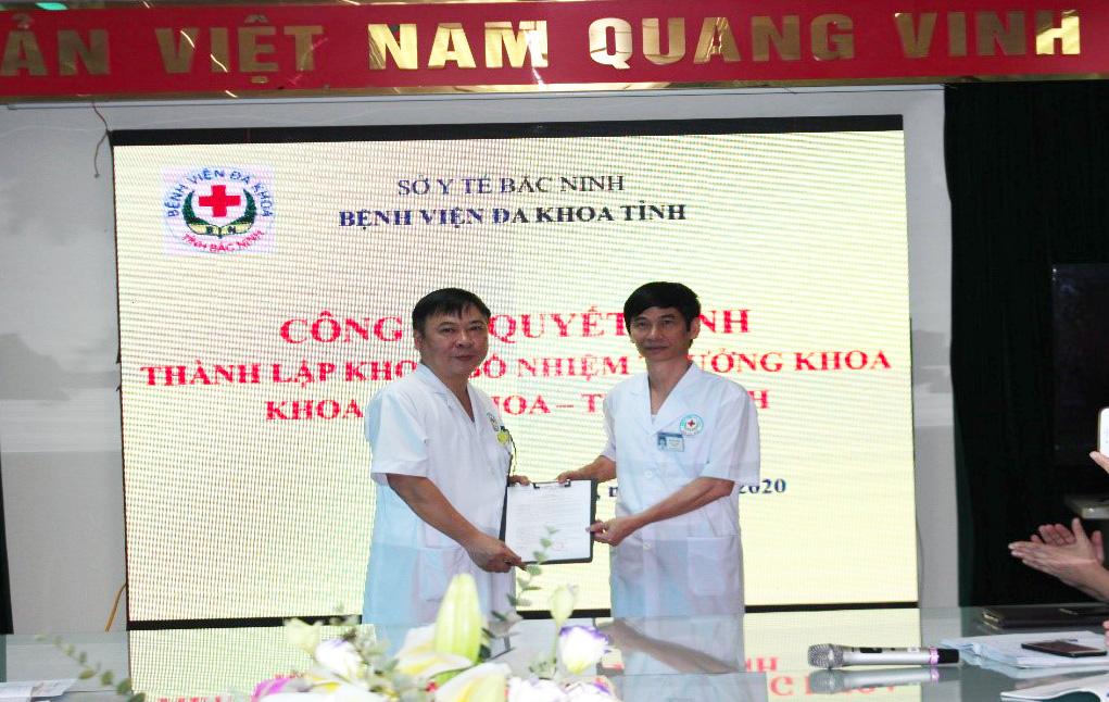 Bệnh viện Đa khoa tỉnh Bắc Ninh thành lập mới khoa Lão khoa – Thần kinh
