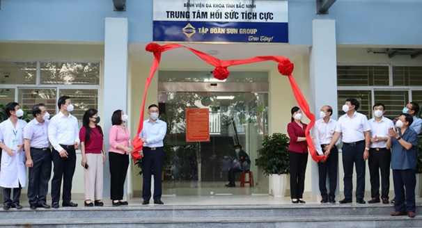 Bệnh viện đa khoa tỉnh Bắc Ninh tiếp nhận Trung tâm Hồi sức tích cực ICU quy mô 100 giường bệnh